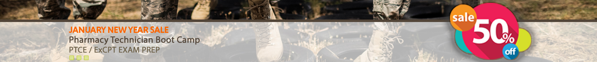 Boot Camp Jan Sale 50% Off